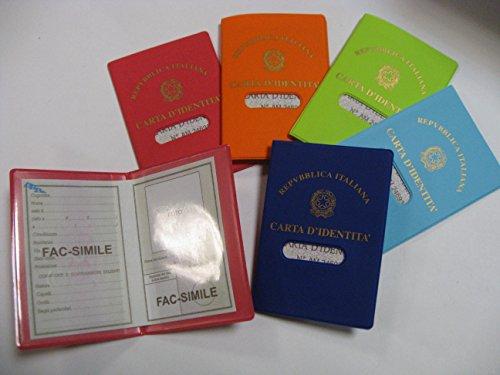 Ausweishalter aus glattem PVC
