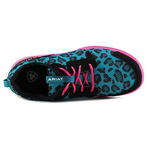 Ariat Fuse Toile Chaussure de Marche Blue Leopard