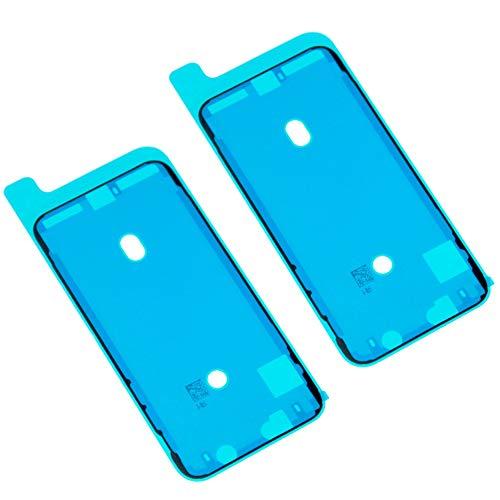 Ewparts Adesivi adesivi resistenti all\'acqua del nastro di tenuta 2PCS, adesivi LCD di ricambio per iPhone X