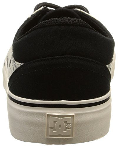 DC Shoes Trase SP M, Sneaker Uomo Nero (Noir (Black/Cream))