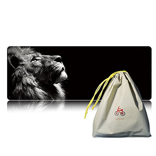 extended-gaming-mouse-pad-lion-mouse-mat-large-xl-size-800x300x3mm-euinsmax-resistant-mouse-mat-with