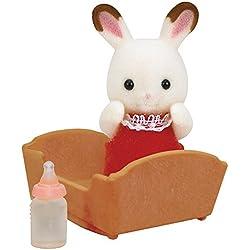 Sylvanian Families - Bebé conejo chocolate (Epoch 3410)