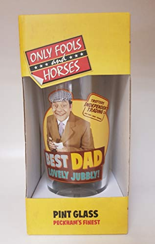 Only Fools and Horses Del Best Dad Pint Glass