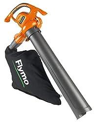 Flymo 9676581-01 PowerVac 3000 Electric Garden Blower Vac, 3000 W