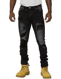 Jeans Homme Slim Fit - effet usé Fini stretch pour plus de confort ANDY