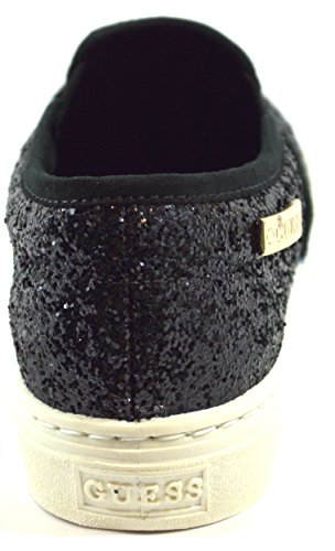 Guess Slip On Donna Sneaker Moccasin Metallic Greta2 Black