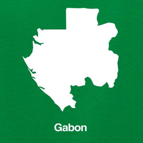 Gabon / Gabun Silhouette - Damen T-Shirt - 14 Farben Grün