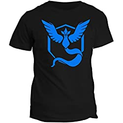 Tshirt Pokemon Go Team Valor Team Mystic Team Instinct Red Blue Yellow Game 2016 - in cotone by Fashwork