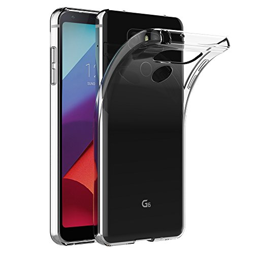 Coque LG G6, AICEK Transparente Silicone Coque pour LG G6 Housse (5,7 Pouces) Silicone Etui Case