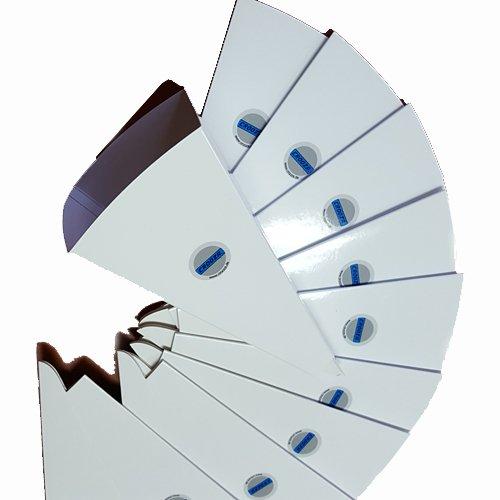 Papier Trichter (10x Qualitäts Einwegtrichter Papier Öl Trichter Papiertrichter saubere Ölwechsel Öltrichter)