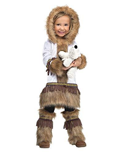 Horror-Shop Eskimo Kleinkinder Faschingskostüm - Eskimo Kostüm Kleinkind