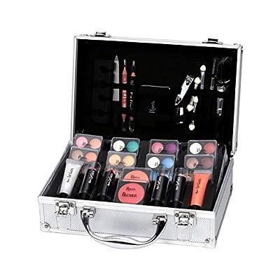 Keeva Cosmetics - Coffret maquillage mallette en aluminium 52 pièces - Iconic
