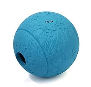 Balles Chien, Voyage Jouet à Mâcher 7cm Balle en Caoutchouc Naturel pour Chien, le jouet et le cadeau idéal pour vos chiens
