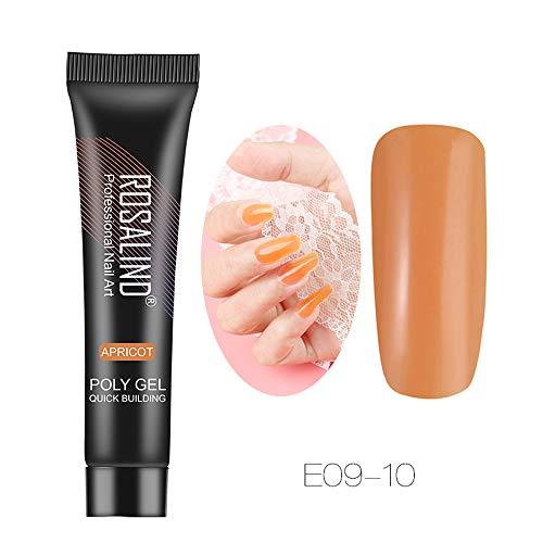 Yogogo nail art accessoires professionnel, Extension de gel pour les ongles Extension de camouflage Builder Gel Lack Glue Extension