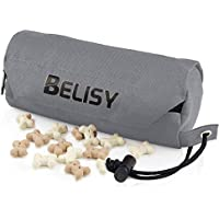 BELISY Bolsa Entrenamiento Perro – Dispensador de Comida y Golosinas para Educación de Mascotas – Contenedor