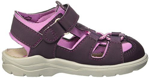 Ricosta Gery, Sandales fermées fille Violet - Violett (dolcetto/candy 340)