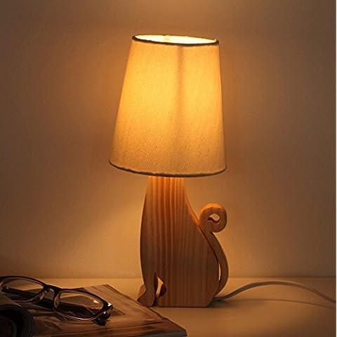 NASEN Innovativo lampada semplice moderna foresta dell'animale domestico del fumetto