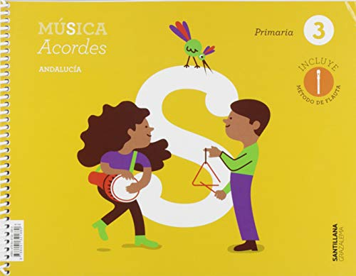 MUSICA ACORDES 3 PRIMARIA