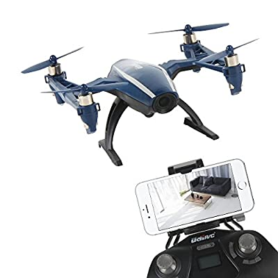Peregrine U28W Wifi FPV Drone 2.4Ghz 4CH Headless Altitude Hold RC Quadcopter with 120° Wide-angle 720P HD Camera, iOS & Android Phone Control