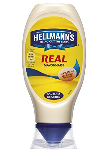 Hellmann's Real Mayonnaise, 2er Pack (2 x 400 g)