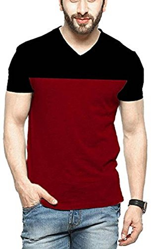 LATEST COLLECTION 2018 100% COTTON PLAIN HALF SLEEVE T-SHIRT CASUAL PARTY FORMAL...