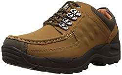 Action Mens Camel Trekking and Hiking Boots - 8 UK (DCE-122)