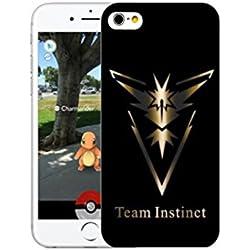 custodia iphone attrezza intuizione 6 6s case Team Instinct pokemon go