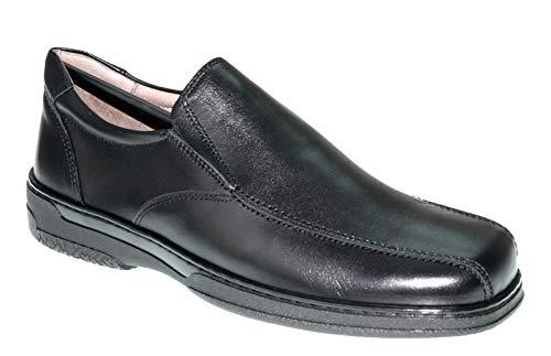 Zapato Cómodo de Hombre, Apto para diabéticos, Zapatos Confort 24 Horas. Disponible Tallas 39-47 - Primocx 6986 (41)