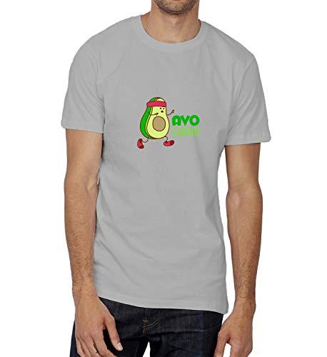 LumaShirts Avocado Sport Avocardio Quote_008538 Shirt T-Shirt Tshirt T Shirt For Men Mens Cute Funny Gift Present Boys LG Grey T-Shirt