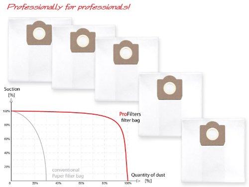Preisvergleich Produktbild 5x Staubbeutel Filtersack für Einhell TC-VC 1812 S