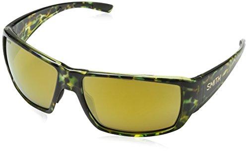 Smith Herren GUIDES CHOICE QE WK7 62 Sonnenbrille, Green Havana/Brnz Sp Pz Cp,