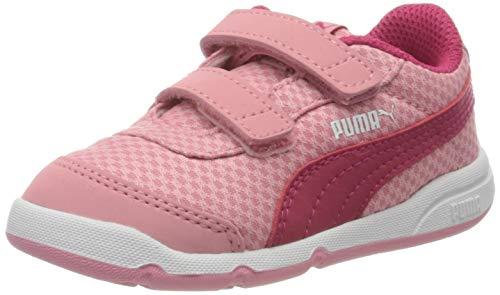PUMA Unisex bebé Stepfleex 2 Mesh Ve V Inf Zapatillas, Rosa (Peony/Bright Rose White 11), 22 EU