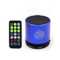 Digital Quran Player With Remote Control (Blue)
