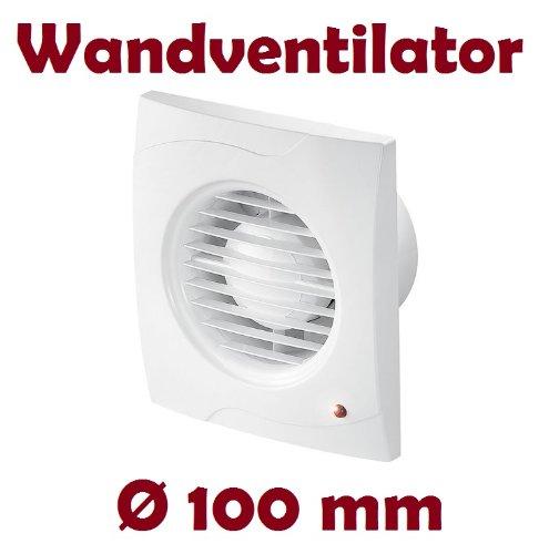 Badlüfter Lüfter Wandlüfter Ventilator WC Bad Küche
