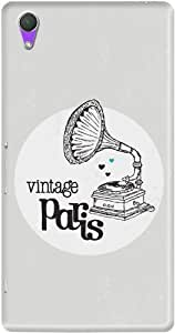 DailyObjects Vintage Paris Mobile Case For Sony Xperia Z2