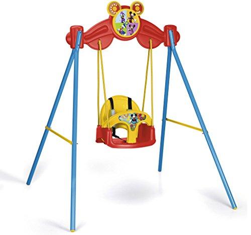 FEBER Mickey Mouse - Balançoire de jardin, pour enfants de 1 à 3 ans (Famosa 800008361)