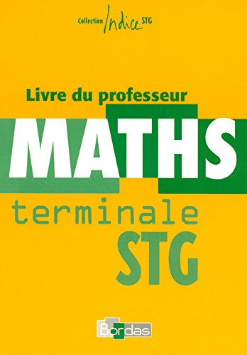 INDICE MATHS TERM STG 06 PROF