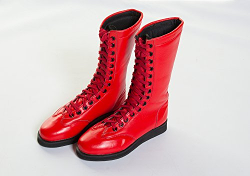 Warrior, Scarpe da Wrestling uomo rosso  rosso UK3 rosso  - rosso