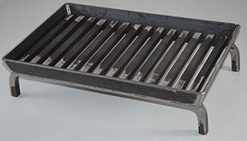 Kaminrost, Feuerrost, Kamin , Feuerbock, Grilleinsatz, Kamineinsatz 50 x 30cm - sehr stabil