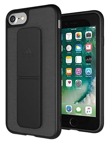 adidas Running - Grip Case iPhone 7 Plus Black - Handyhülle iPhone 7 Plus / Smartphone Hülle iPhone 7 Plus - Handy Case, TPU Schutzhülle für Jogging, Fitness & Sport usw.