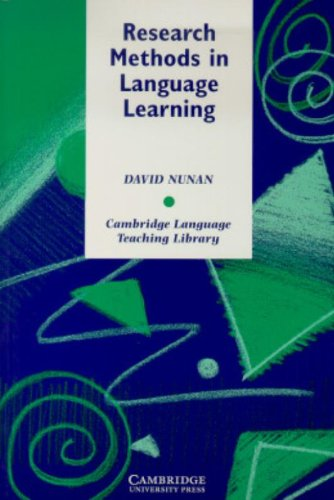 Research Methods in Language Learning Paperback (Cambridge Language Teaching Library)