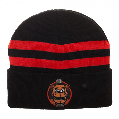 Five Nights at Freddy's Embroidered Light Up Beanie