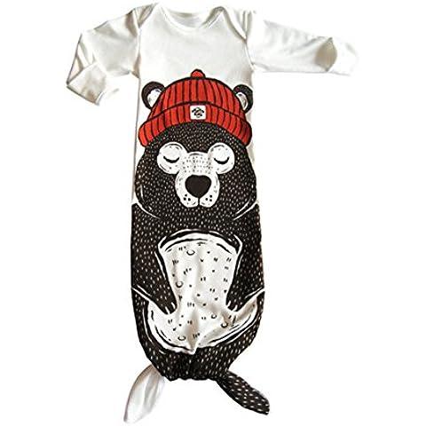 weiju fmryy909Lovely Unisex Neonato Infant Wearable coperta sirena caldo sacco a pelo personalità Swaddle Sacchi