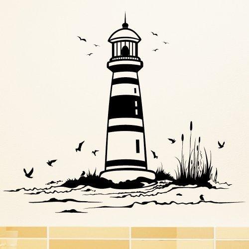 spiaggia-con-faro-adesivo-da-parete-49-colori-4-misure-prodotto-di-qualita-35-x-41-cm-grigio-medio