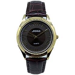 Ladies Wristwatch Analog Leather Quartz 1032 XS Swimming Pool