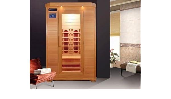 Sauna infrarossi due persone con cromoterapia e doppio