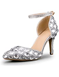 Minitoo MinitooEU-MZ8296 - Zapatos de Vestir de Material Sintético Para Mujer