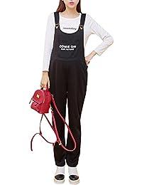 Cihui Mono Overall para Mujer, Peto Premamá Monos De Jersey Pantalones para Embarazadas