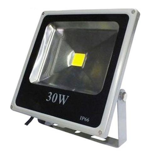 Auralum® 30W Super Hell 230V IP65 Wasserdicht Grau Kaltweiß LED Außenstrahler Fluter Flutlicht