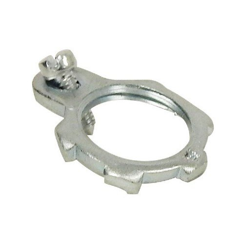 1 Trade Size 1 Trade Size Steel Morris Products 14744 Grounding Locknut